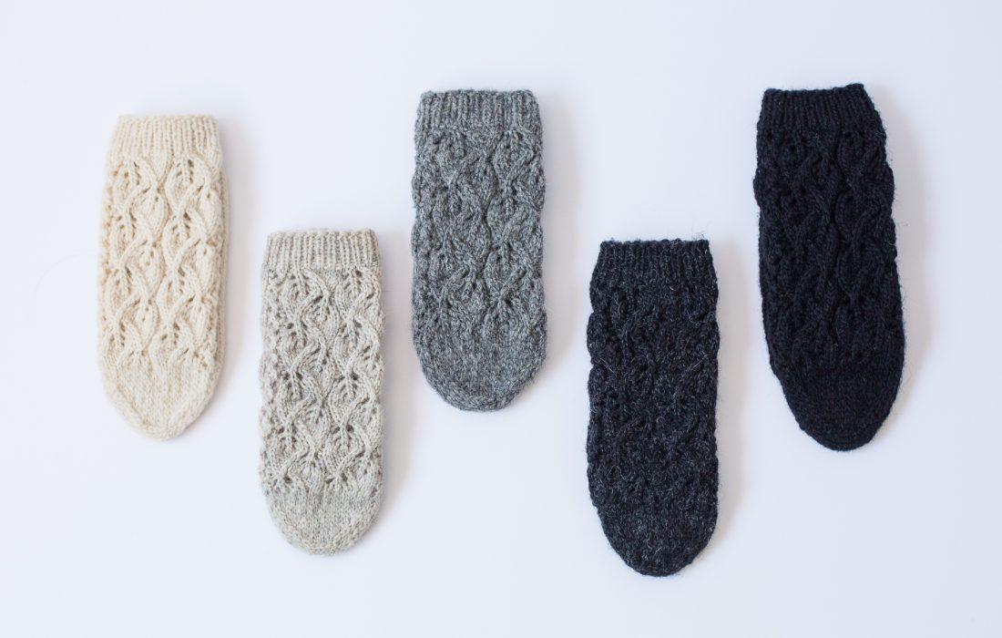 Siva paleta NITI čarapa