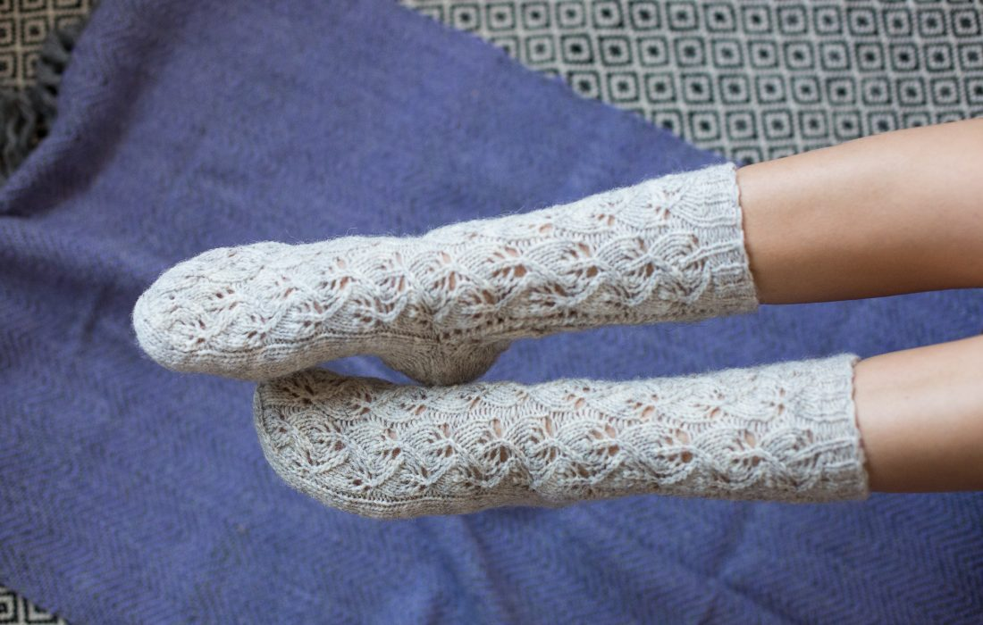 NITI čarape svetlo sive